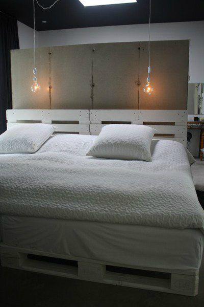 diy betten aus europaletten m bel pinterest m bel bett und palette. Black Bedroom Furniture Sets. Home Design Ideas