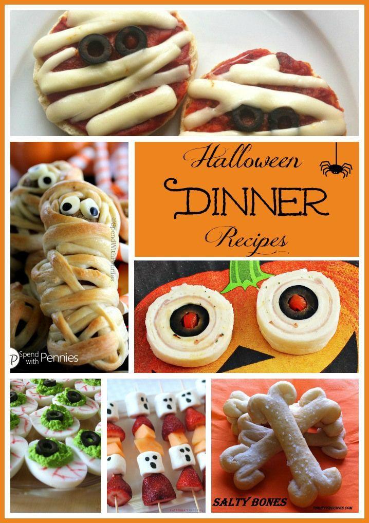 Halloween dinner recipes whats for dinner pinterest halloween dinner recipes forumfinder Image collections