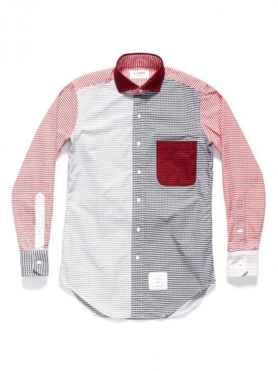 Thom Browne Multi Gingham Oxford Shirt