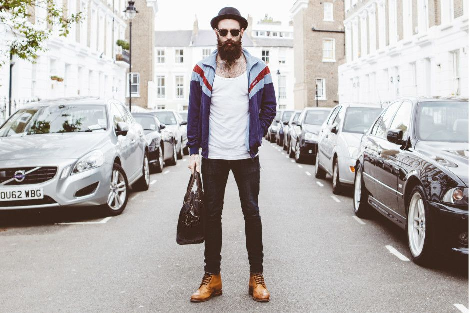 The Man Behind The Beard U2013 Ricki Hall He Is One Of The Most Popular Male  Models Today, Is 25 Years Old English Model Currently Living In London, ...