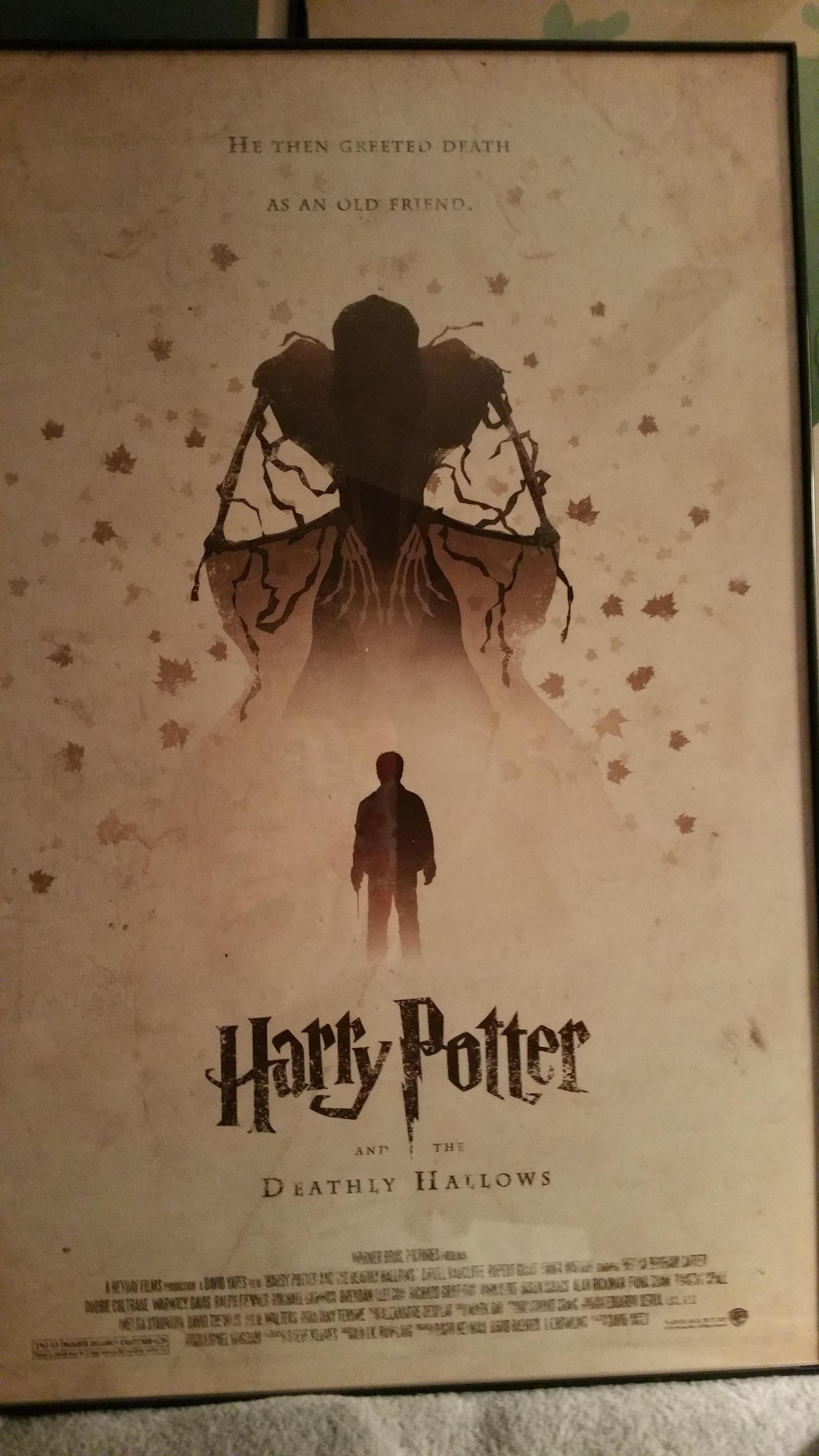 Today Is My Birthday This Is What My Awesome Boyfriend Got Me Harry Potter Poster Harry Potter Series Harry Potter