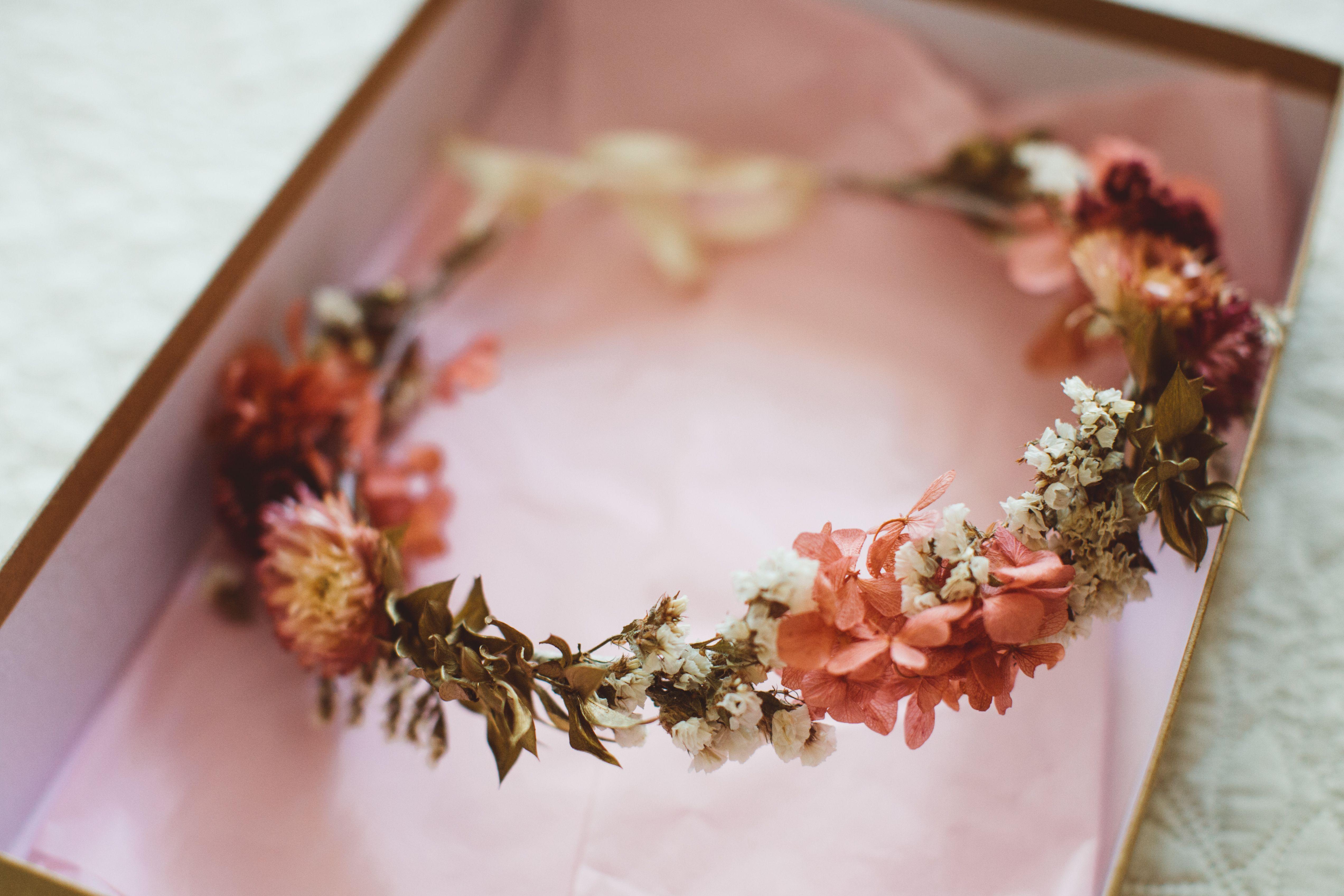 Tocado Flores Secas Flores Secas Tocados Tocados Flores