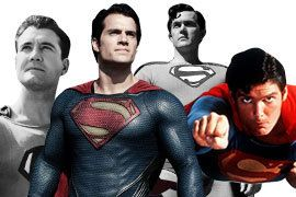 How Each Superman Actor Has Helped Keep the Man of Steel Relevant for 75 Years