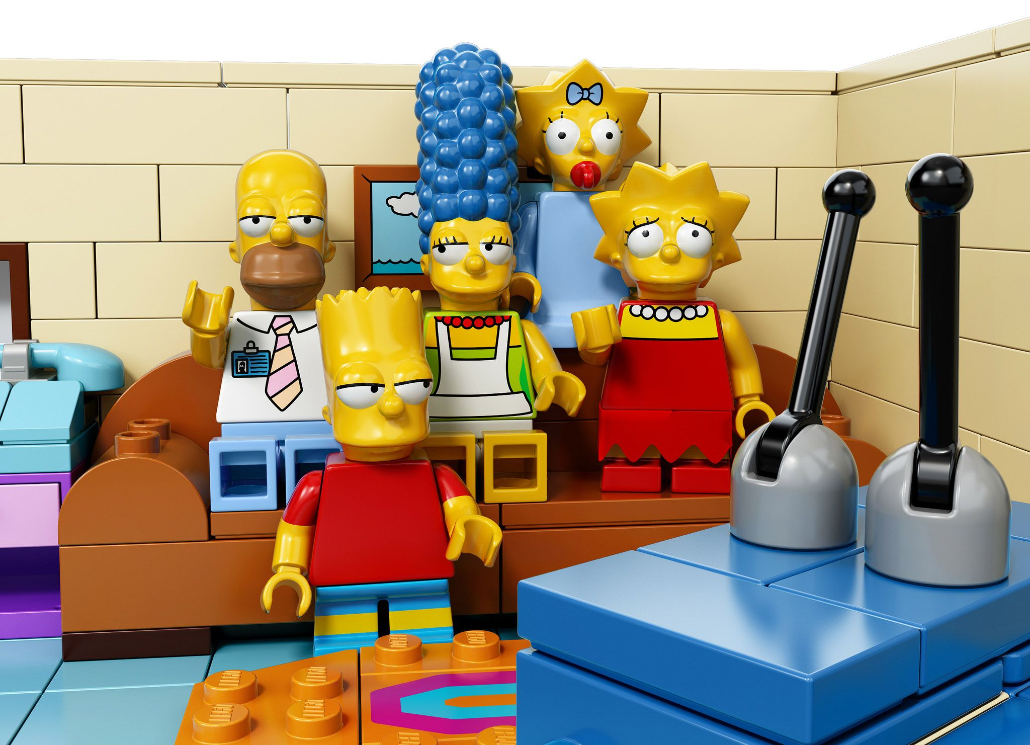 Official 'The Simpsons' LEGO Set :)  Yay! I smiled when I saw these.