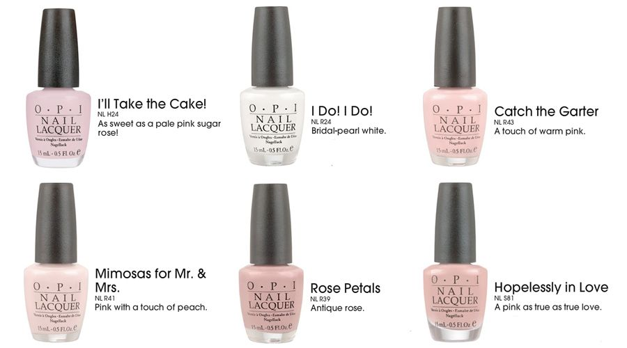 Wedding Nail Color – Shades That Add Romance | Pinterest | Wedding ...