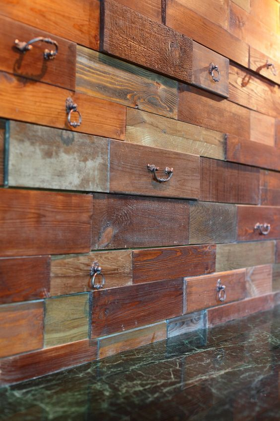 30 Jaw Dropping Wall Covering Ideas For Your Home House Decoration In 2018 Pinterest Drawers And Textured Walls