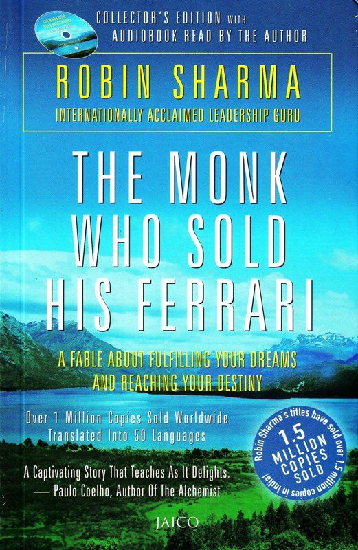 The Monk Who Sold His Ferrari Book Worth Reading The Monks