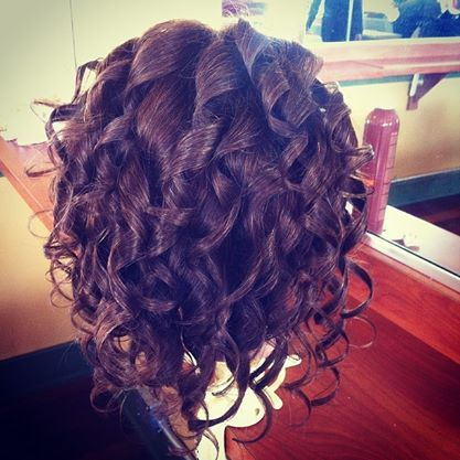 Thermal Curls Curling Iron Hairstyles Hair Styles Curled Hairstyles