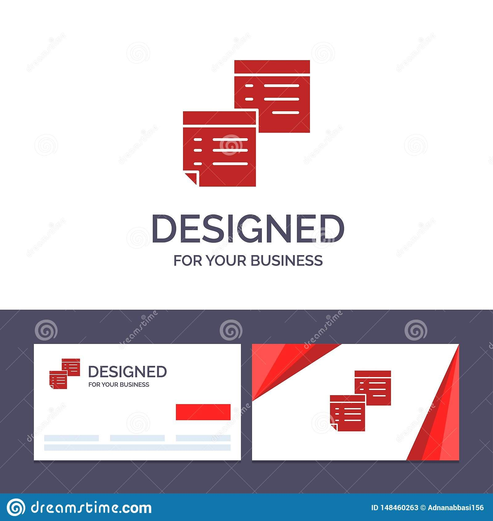 Creative Business Card And Logo Template Sticky Files Note For Business Card Templ Business Card Template Word Business Cards Creative Business Card Template