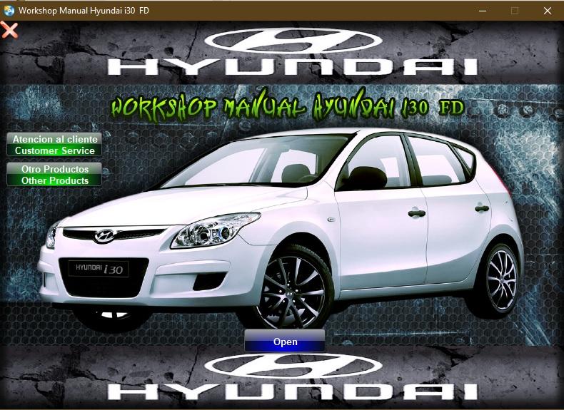 Manual De Taller Y Reparacion Hyundai I30 Fd 2007 2009 Manuales De Reparacion Reparacion Reparacion De Carroceria