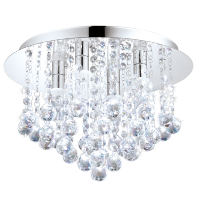 Almonte LED Ceiling Light Finished In Chrome This Fitting Is Made From Steel And Has An Rating Allowing It To Be Used Certain Areas Of A Bathroom
