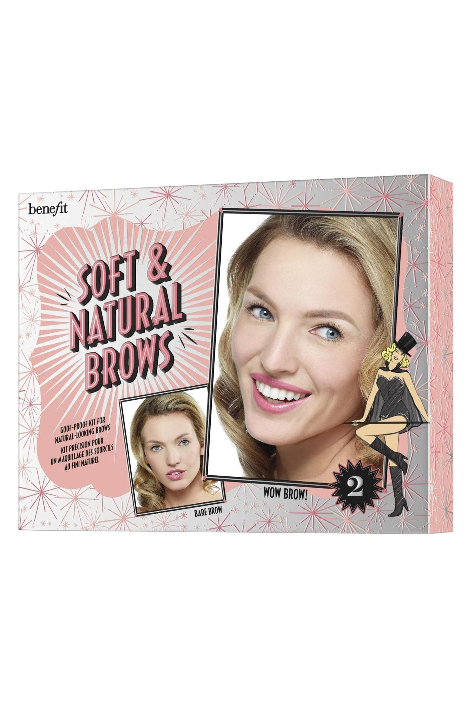 Buy Benefit Soft & Natural Brows Kit from the Next UK online shop #naturalbrows Womens Benefit Soft & Natural Brows Kit -  No Colour #naturalbrows