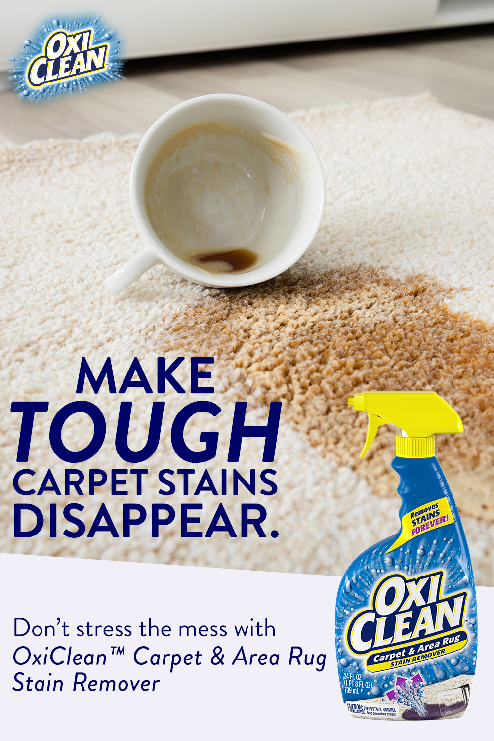 Get Rid Of Tough Stains With Oxiclean Carpet Area Rug