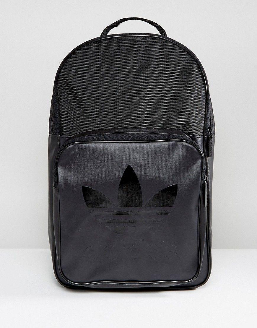 ccf9a268b85 ADIDAS ORIGINALS CLASS SPORT BACKPACK IN BLACK BK6783 - BLACK.   adidasoriginals  bags  polyester  backpacks