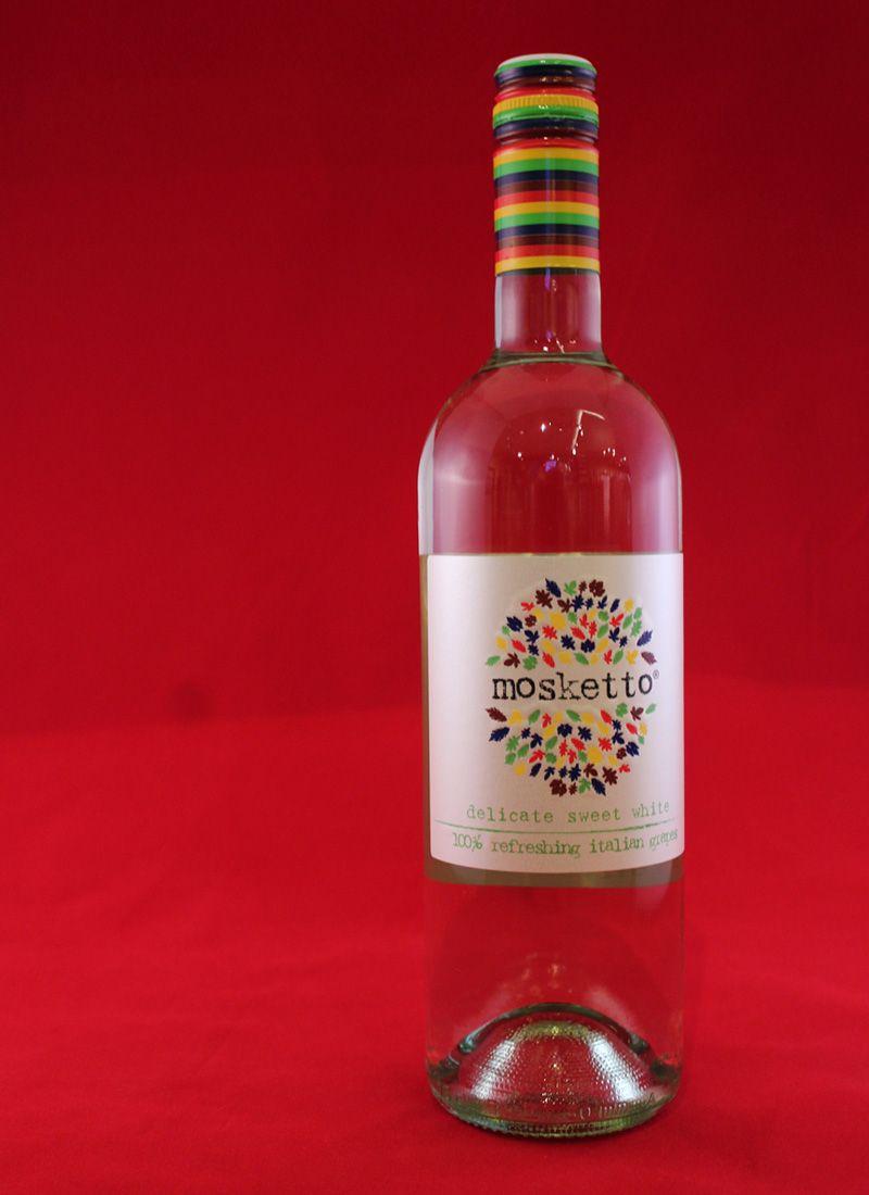 Mosketto Moscato Wine Bottle Rose Wine Bottle Moscato