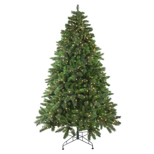 75\u0027 Pre-Lit Mixed Scotch Pine Artificial Christmas Tree - Clear