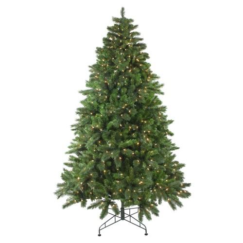 75\u0027 Pre-Lit Mixed Scotch Pine Artificial Christmas Tree - Clear