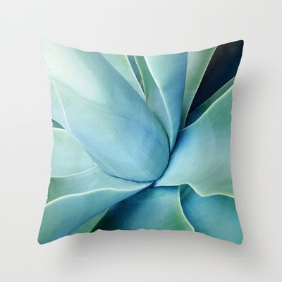 Agave+Throw+Pillow+by+Ez+Pudewa+-+$20.00