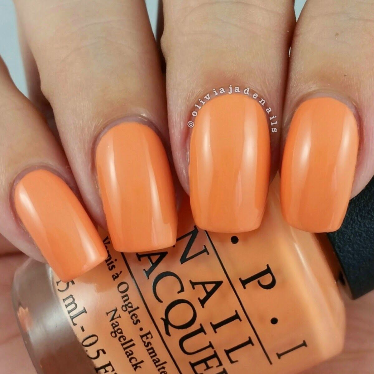 OPI Is Mai Tai Crooked? swatched by Olivia Jade Nails - My OPI ...