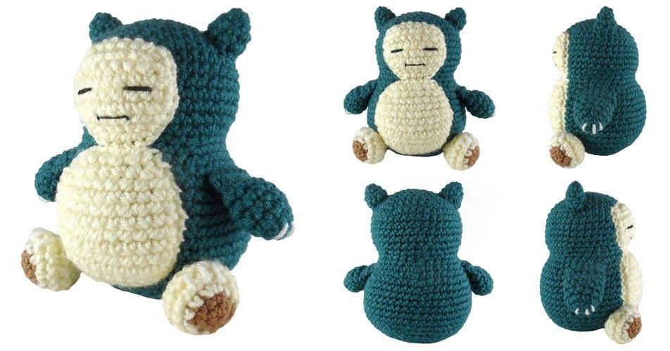 i crochet things: Pattern: Snorlax Amigurumi | Crochet I Like ...