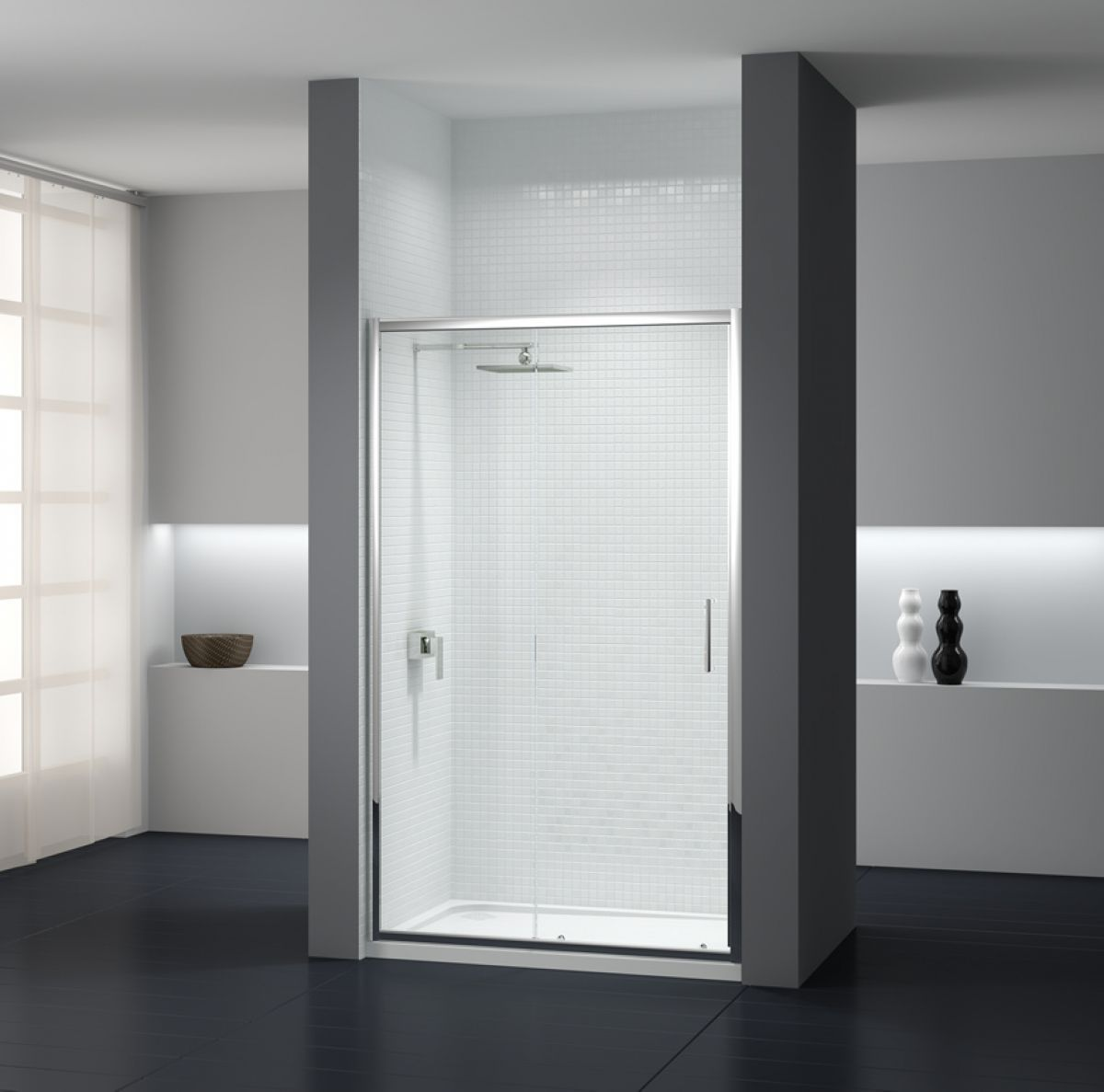 how to remove sliding glass doors from shower