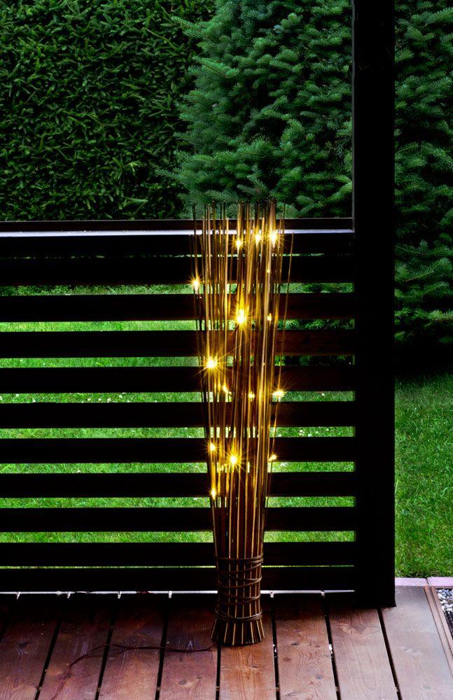 Decoration for garden: Bambukepit, Solar light.