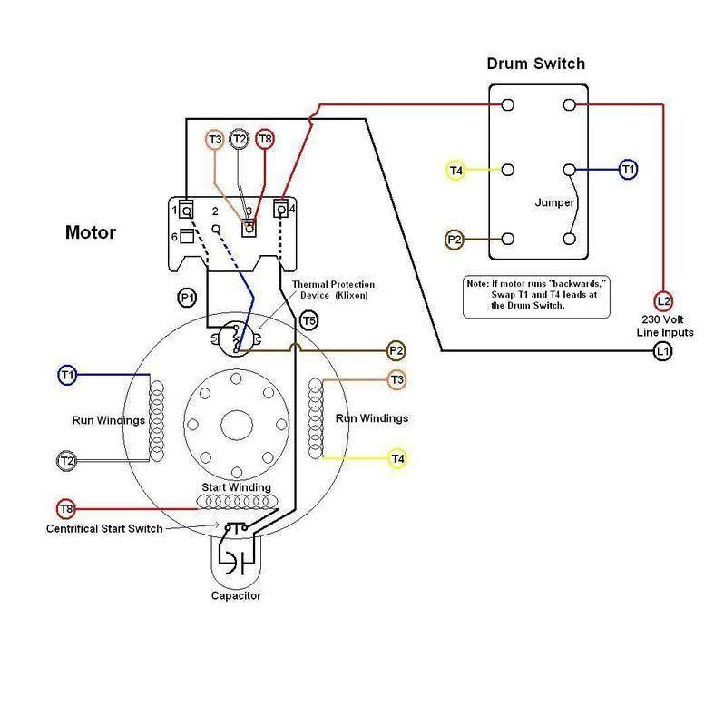 drum switch rewiringwlw19958  homemade rewiring of a