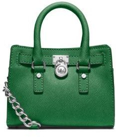 MICHAEL Michael Kors Hamilton Saffiano Leather Mini Messenger on shopstyle.com