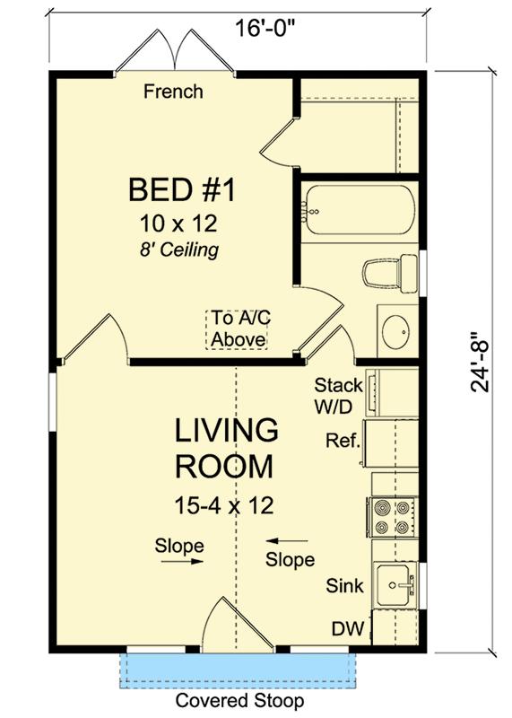 Plan 52283wm Compact Tiny Cottage Simple Floor Plans Tiny House Floor Plans Tiny House Plans