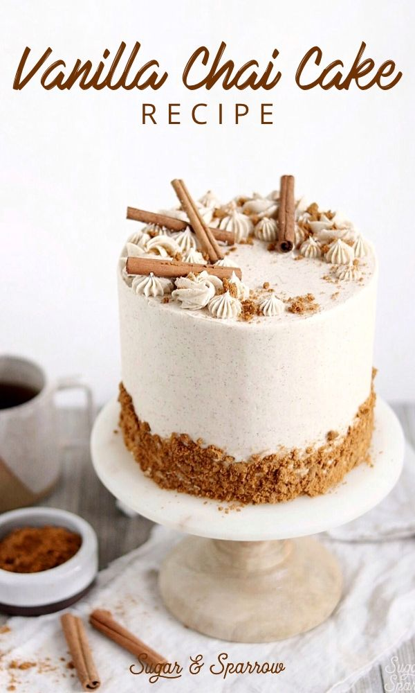 Photo of Vanilla Chai Cake Recipe