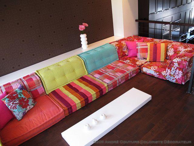 Roche bobois mah jong lounge for Canape roche bobois kenzo