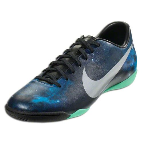 fb945a2f21c6 Nike CR7 Mercurial Victory IV IC Ronaldo Indoor Soccer Shoes Space Galaxy  Blue (aka perfection)