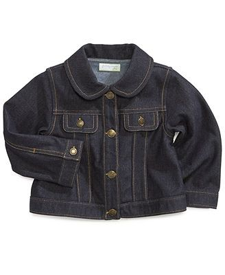 494593ad First Impressions Baby Girls' Jean Jacket | Baby Finery for Elle ...