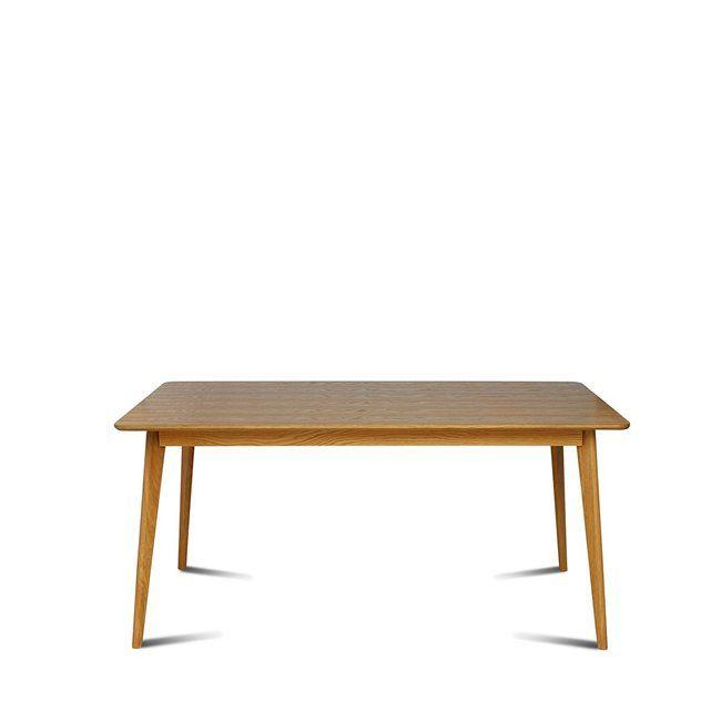 Table Scandinave En Bois 160cm Skoll Table A Manger Table Scandinave Table Design