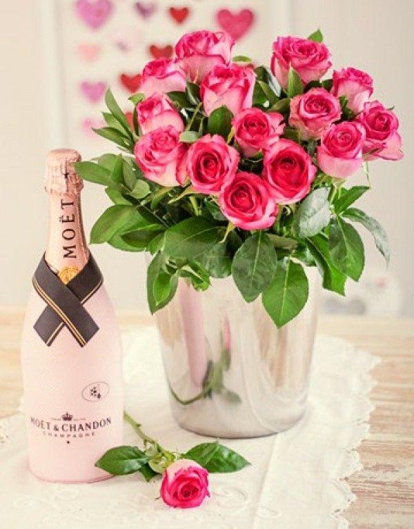 открытки торт шампанское цветы иногда поход