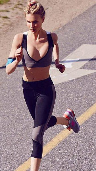 Ok I'm sorry but HOW DO YOU RUN WITH A BRA LIKE THIS? Wouldn't your boobs be falling out?!
