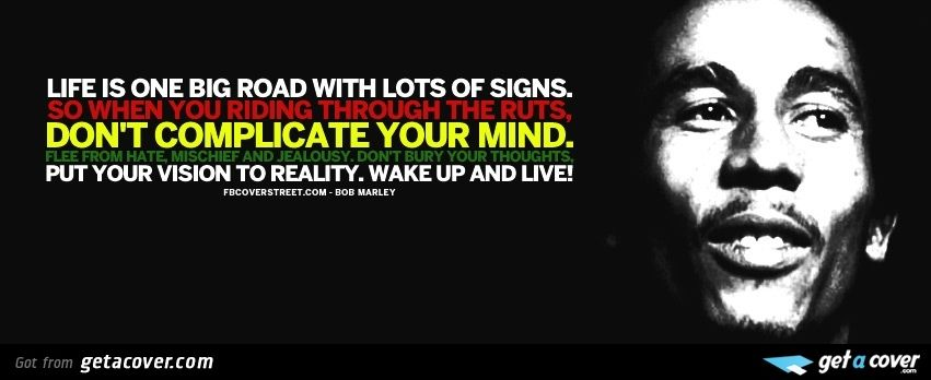 bob marley quotes fb covers Login to preview your