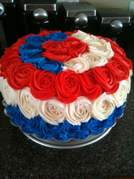Best Memorial Day Cakes With Images 4th Of July Cake Holiday