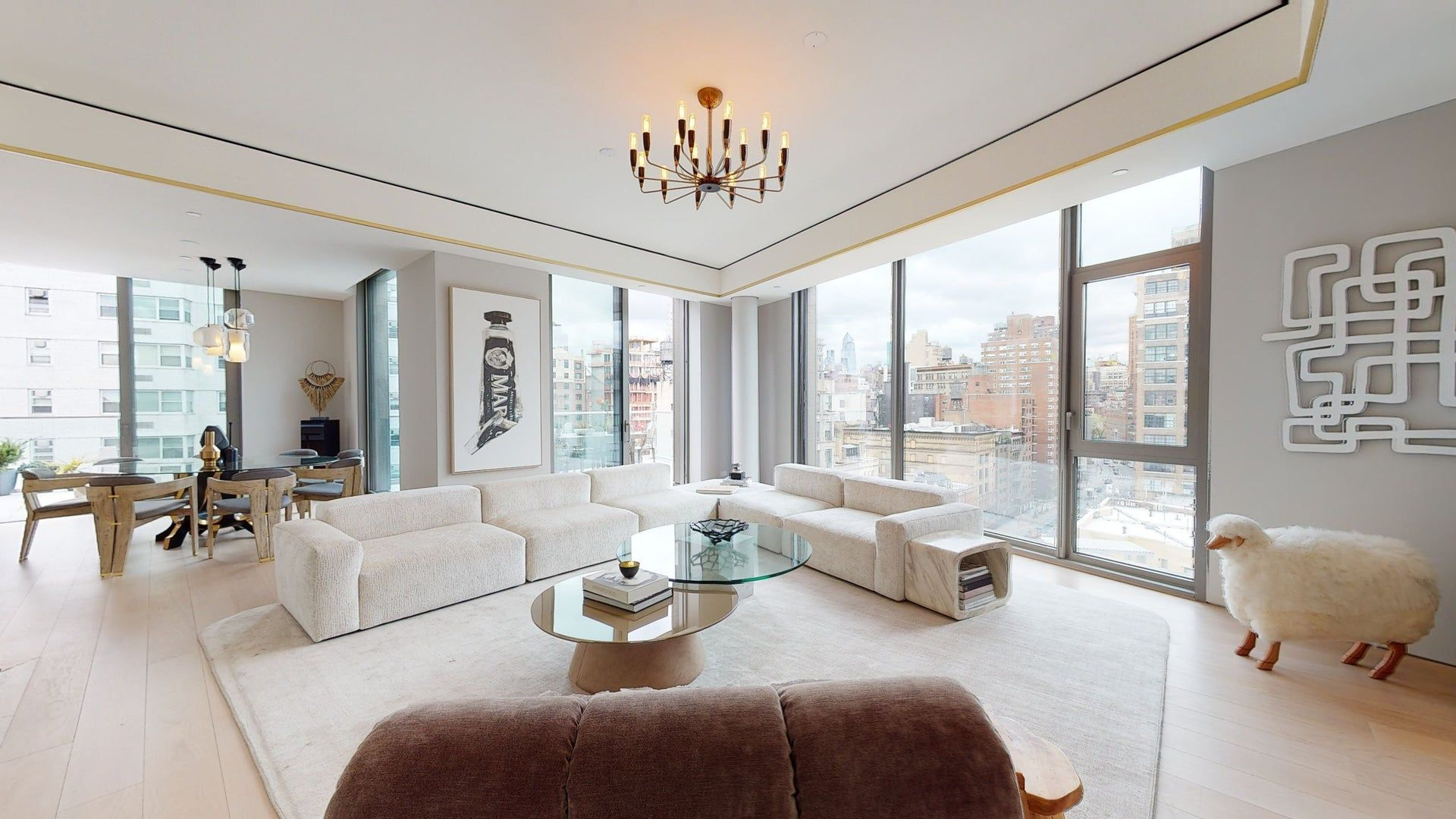 Explore 80 East 10th Street Ph In 3d Dream House Rooms Modern Glam Living Room 10 Bedroom House