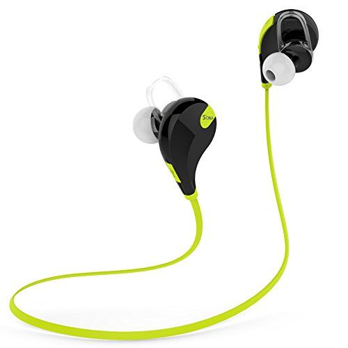 Soundpeats Soundbeats Qcy Qy7 Mini Lightweight Wireless Stereo Sports Running Gym Exercise Bluetooth Earbuds Headphones Headsets W Microphone For Iphone 5s 5c