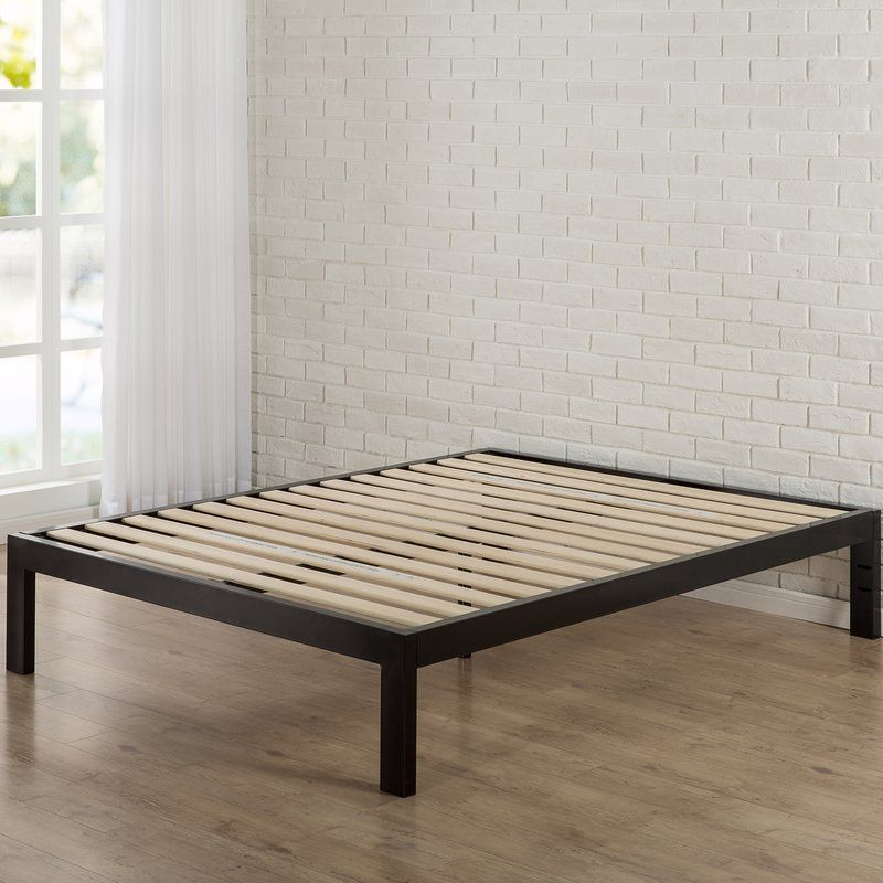 The Extra Strength Steel Framed Quick Snap 14 Quot Platform Bed