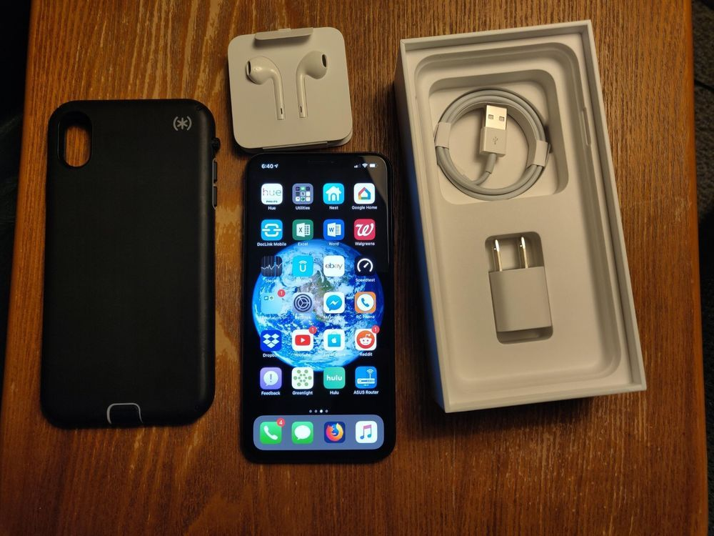 Apple iphone xs max 64gb space gray verizon only