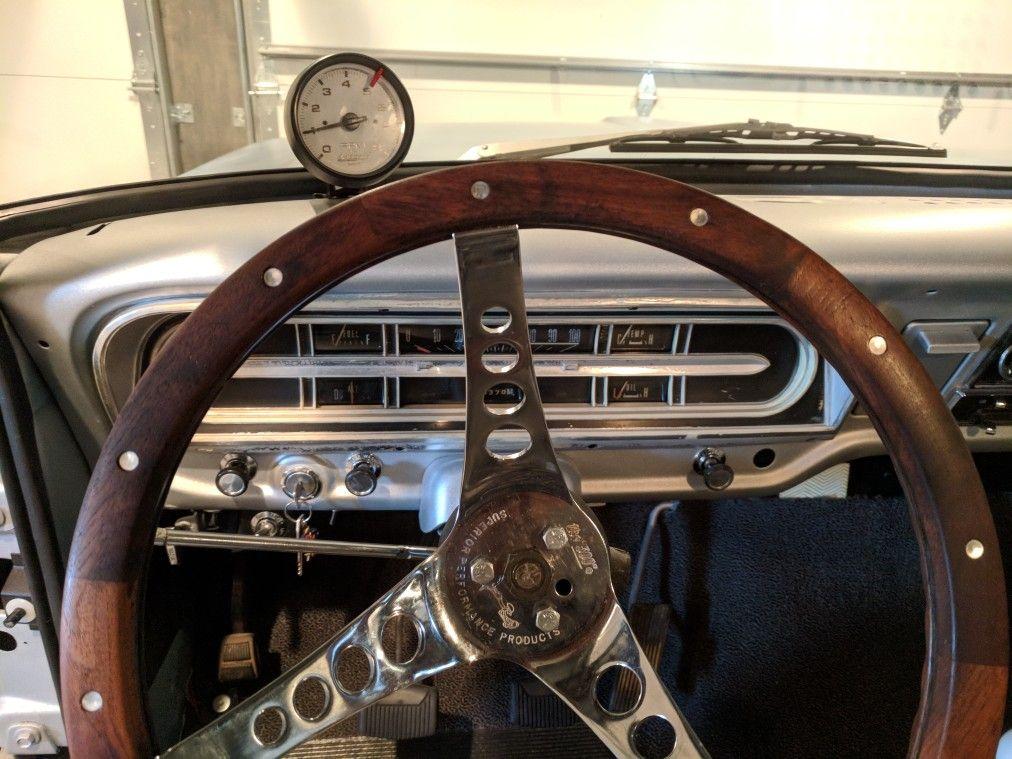 1970 F100 Interior Wood Steering Wheel Ford Pickup Steering Wheel Wheel