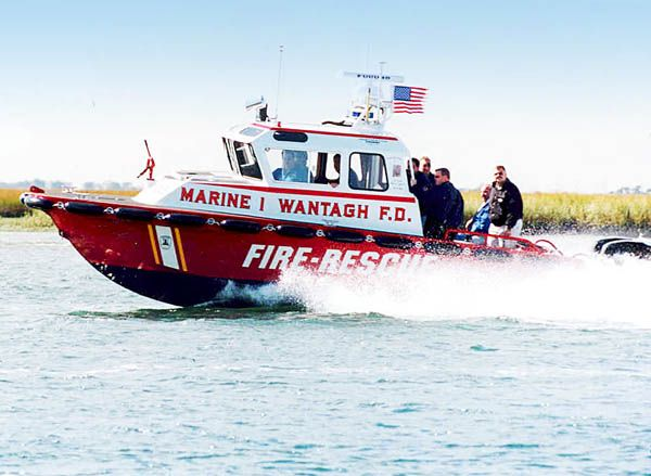 Wantagh F.D. Fire and Rescue Boat