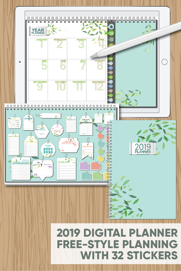 graphic about Free Digital Planner Pdf referred to as Pin by means of Laura Blanchard upon ipad 2018 Planner applications