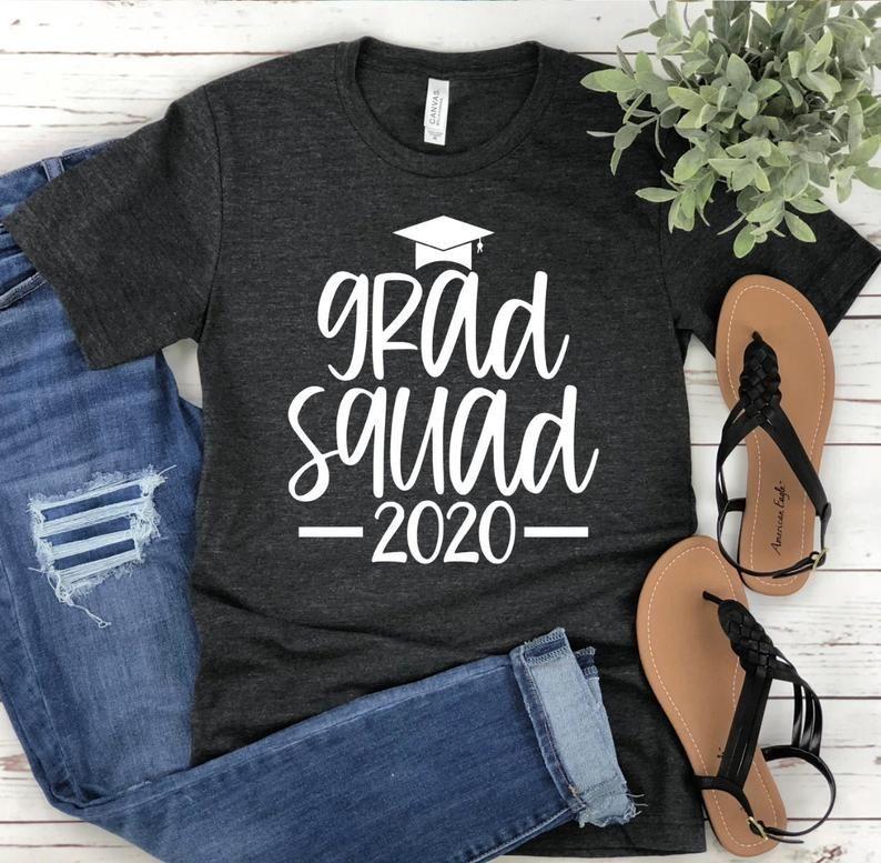 School Graduation Graduation Squad Class of 2021 Shirt Graduation Shirts The one where I Graduate Shirt Custom Graduation Shirt