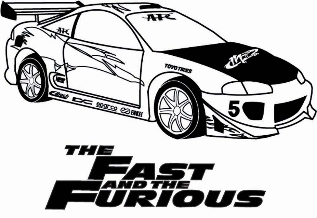 Fast And Furious Coloring Pages Getcoloringpages