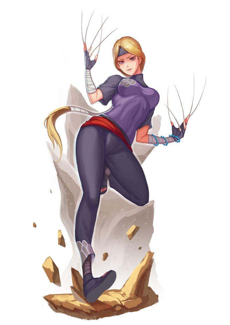 Yugito Nii   Personagens de anime, Anime, Fanart
