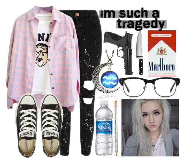 """Alex Anderson"" by tell-me-pretty-lies ❤ liked on Polyvore featuring Converse, GlassesUSA, KitchenAid, Smith & Wesson and prettyliesrp"