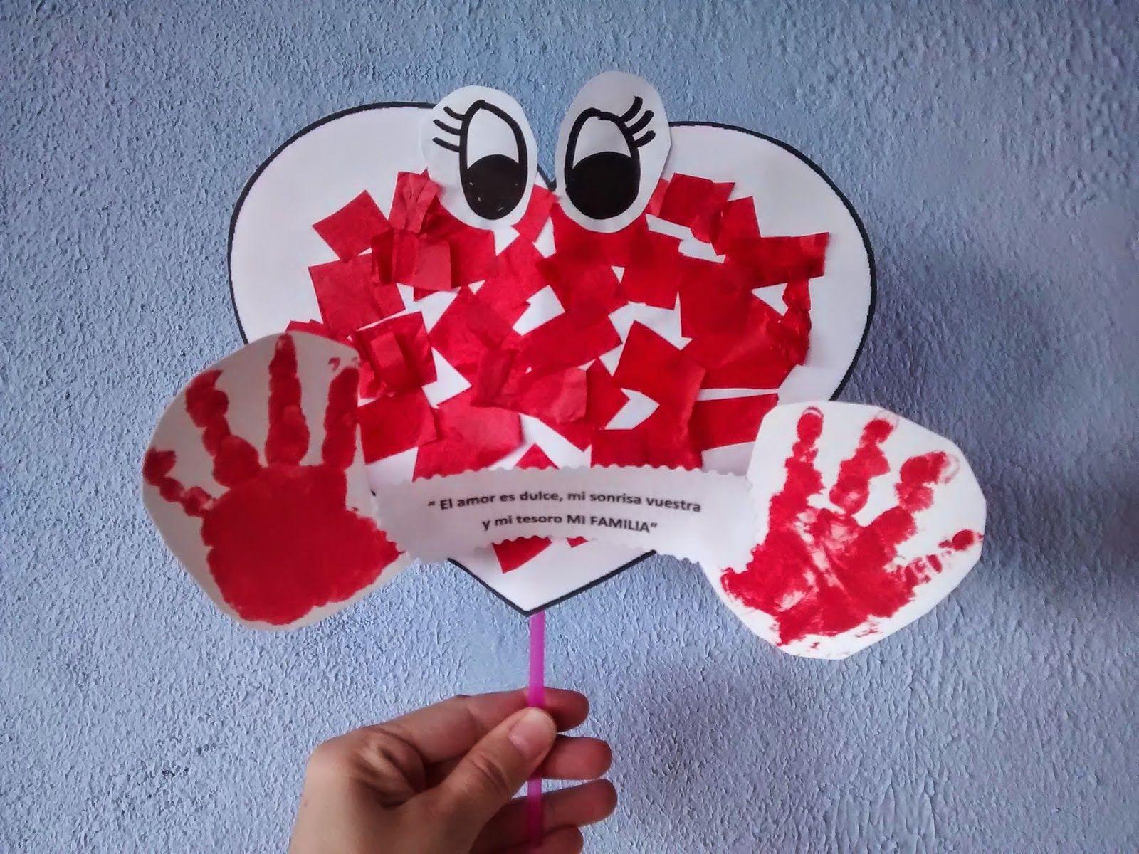Materiales Para Educacion Infantil Dia De La Familia Manualidades